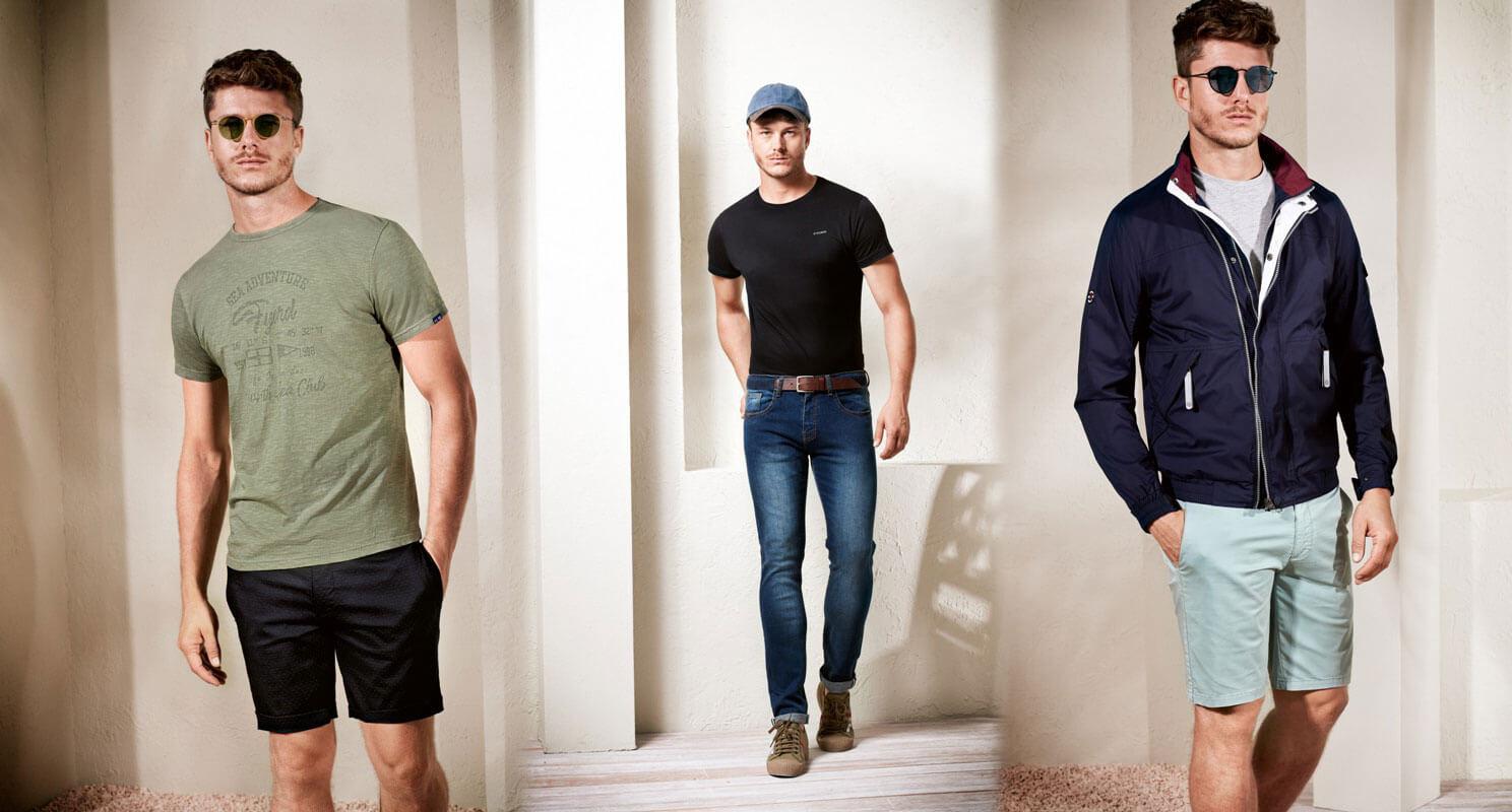 Moda masculina Fyord verano